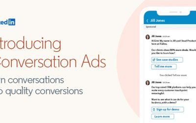 LinkedIn Marketing Solutions Launches Conversation Ads